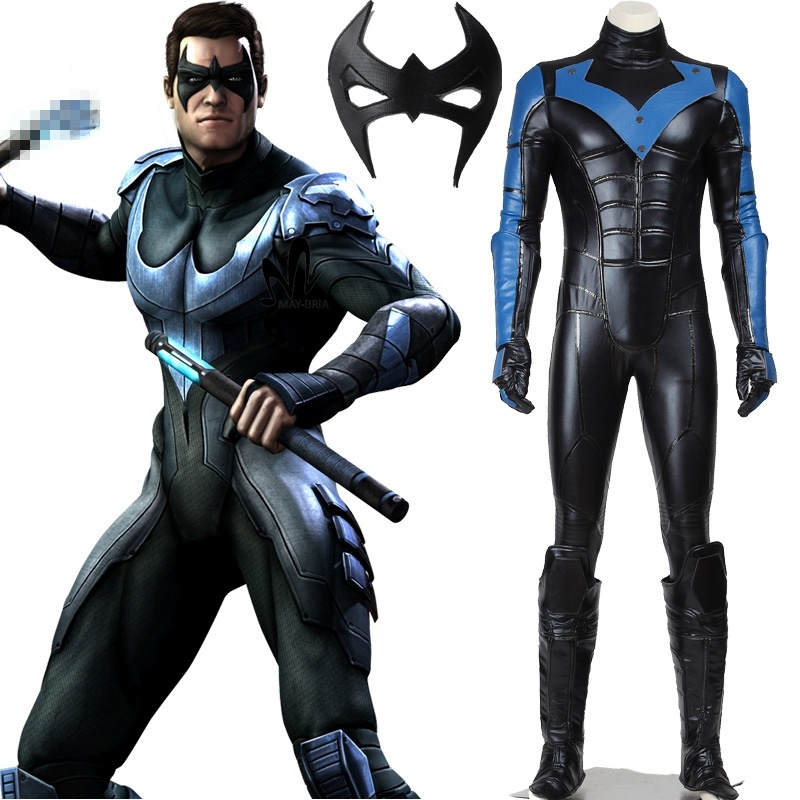 The ultimate cosplayer guide to nightwing costume blogprocess the ultimate cosplayer guide to nightwing costume solutioingenieria Images