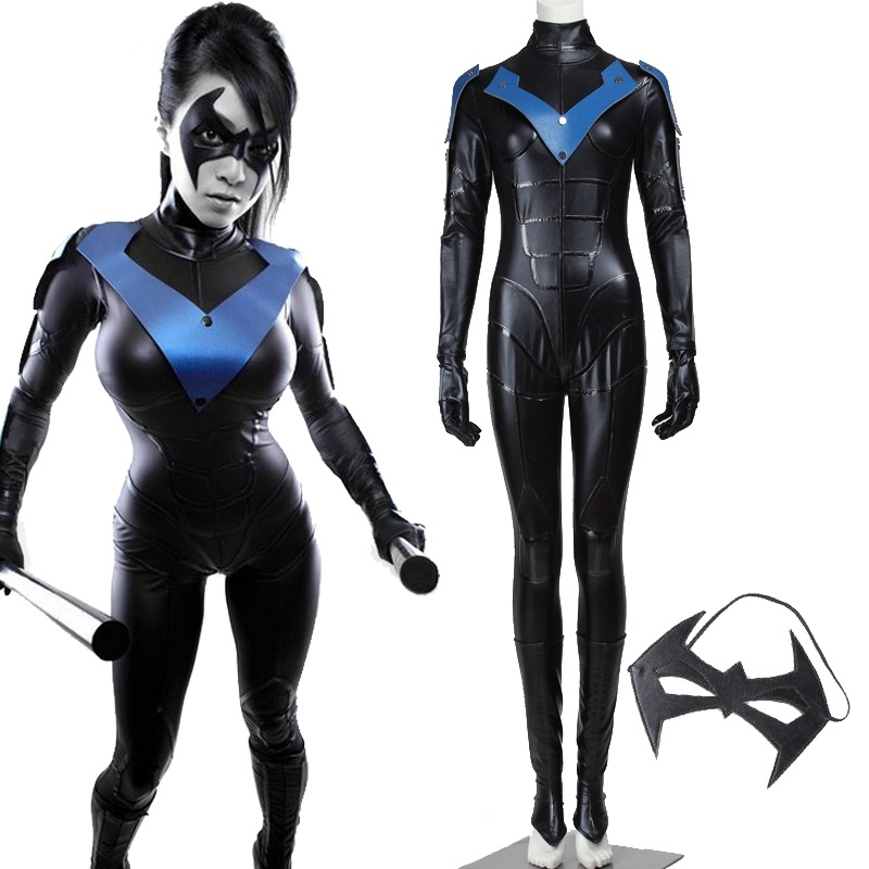 The ultimate cosplayer guide to nightwing costume blogprocess finally if you dont have enough time to make it by yourself you can search some professional cosplay costumes stores and buy nightwing full set costume solutioingenieria Images